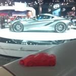 3D Printed Toyota FT-1 Concept Car For LA Auto Show
