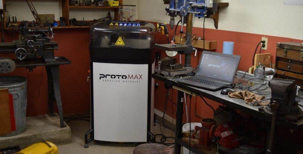 ProtoMAX | Abrasive Waterjet | Purple Platypus