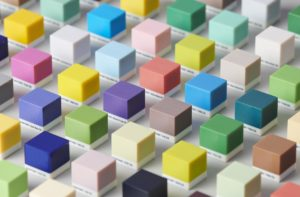 Pantone Cube Grid